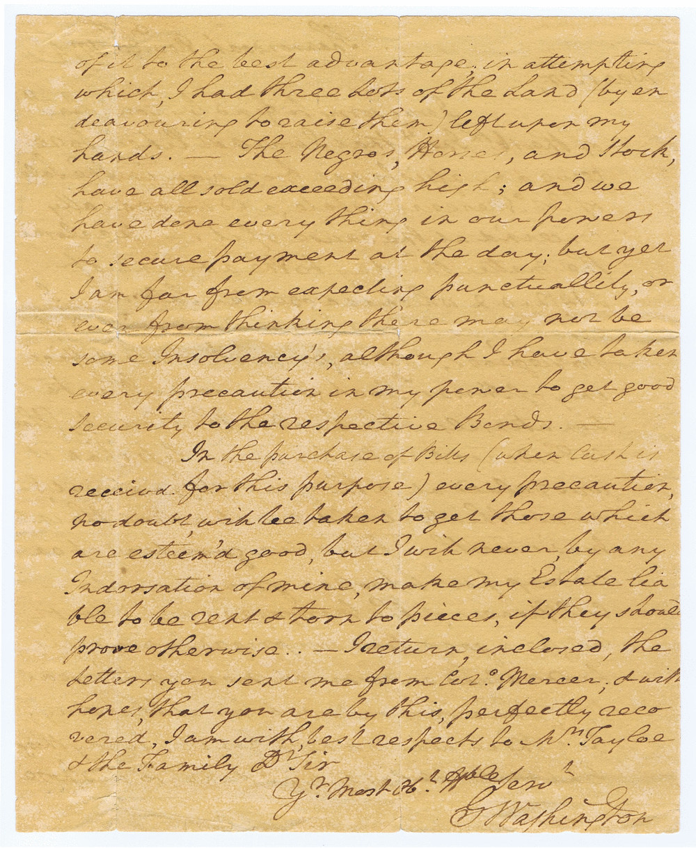 Auction Collectibles Original Historical Documents Cutler Hammer Drum Switch Wiring Diagram The Negroes Horses And Stock Have All Sold Exceeding High