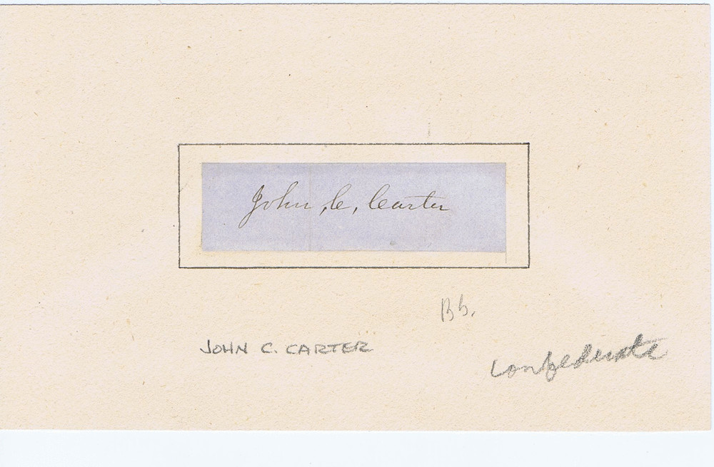 John C Carter Image